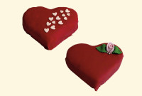 Torcik okolicznościowy Walentynki